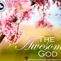 Jesus The Awesomeness of God by Pastor Ayodele Tekobo (April 26th 2015) by RCCGPeaceAssemblyGA on SoundCloud