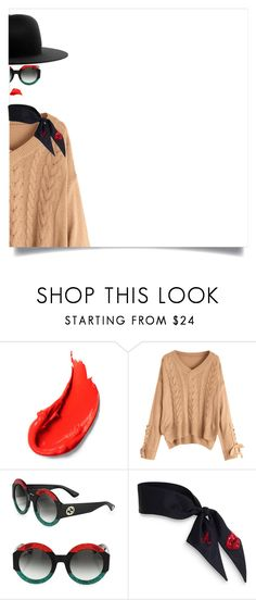 """""""IT!"""" by maria-laura-correa-da-silva ❤ liked on Polyvore featuring Gucci and Études"""