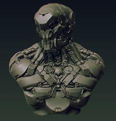 Robot doodle by panick.deviantart.com on @deviantART