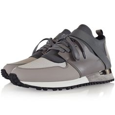 MALLET FOOTWEAR Mallet Grey BTLR Runners - Footwear from Brother2Brother UK Dress With Sneakers, Runners, Runner Rugs