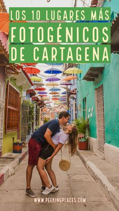 If you're planning to visit Cartagena, read this article for the exact locations of the best photo spots. I've even included a map at the end of this post! Visit Colombia, Colombia Travel, Adventurous Things To Do, Cameron Highlands, Walled City, Cool Photos, Adventure, Pictures, Spaces