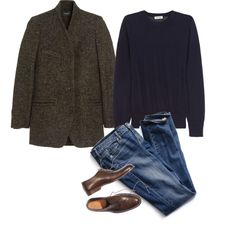 A fashion look from September 2014 featuring Totême sweaters, Isabel Marant coats ve Victoria's Secret jeans. Browse and shop related looks.