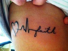Infinity Tattoo Designs faith love heart