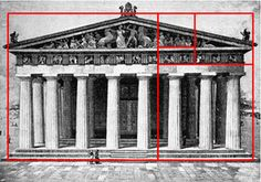 Approximately the Ancient Greeks caught on the -perfect proportion& also known as- Proportion Architecture, Art And Architecture, Architecture Tattoo, The Golden Mean, Ancient Buildings, Golden Ratio, Parthenon, Greek Mythology, Ancient Greece