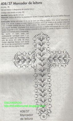 Marcador de Bíblia_Crucifixo                                                                                                                                                                                 Más Crochet Bookmark Pattern, Crochet Bookmarks, Crochet Ornaments, Crochet Cross, Crochet Diagram, Crochet Chart, Thread Crochet, Love Crochet, Filet Crochet