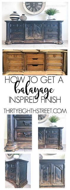 Balayage Coloring on Furniture by Thirty Eighth Street. Painting Technique desig… Balayage Coloring on Furniture by Thirty Eighth Street. Painting Technique designed to give your furniture a rustic farmhouse finish! Refurbished Furniture, Repurposed Furniture, Rustic Furniture, Furniture Makeover, Cool Furniture, Furniture Design, Furniture Stores, Porch Furniture, Sanding Furniture