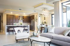 Dennison Model at Naples Square, interior design by Claudia Baer of the Baer's Naples Store