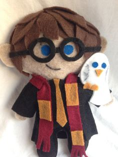 cute felt handmade Harry Potter More