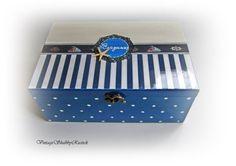 Newborn Baby Box. Beach Baby Box. by VintageShabbyRustick on Etsy