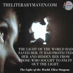 """The LIght of the World by Ellen Simpson is a mix of The DaVinci Code meets The Golden Compass with a struggle between good and evil, the protector of """"the light of the world"""" versus its seekers, possible conspiracy, and secrets that can't be revealed. Read on for more of my review and ideas for classroom application."""