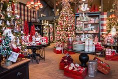 Roger's Gardens - Bringing Beauty into Your Home & Garden Christmas Room, Christmas Store, Christmas Scenes, Cozy Christmas, Outdoor Christmas, All Things Christmas, Winter Christmas, Xmas, Christmas Displays