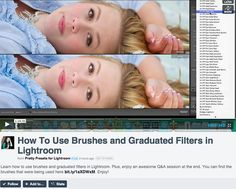 Webinar Replay: How to use Lightroom Brushes and Graduated Filters.  Plus, free notes that instantly download!