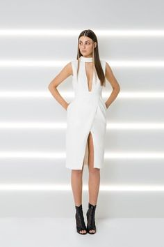 THE DIVINE ETERNAL MIDI DRESS
