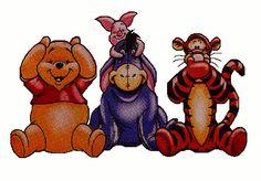 Hear Speak See Pooh Gang