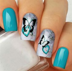 Cute Acrylic Nails, Acrylic Nail Designs, Cute Nails, Pretty Nails, Gel Nails, Nail Polish, Nail Designs Spring, Cute Nail Designs, Elegant Nail Art