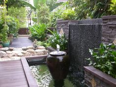 really like this Water feature! Too bad we don't have a wall