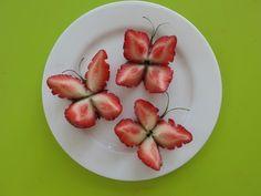 Strawberry Butterflies