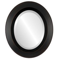 LOMBARDIA FRAMED OVAL MIRROR - RUBBED BRONZE Black Oval Mirrors from $119 | Free Shipping