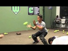 ▶ Jen Schro Catching Workout - YouTube
