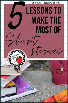 The brevity of teaching short stories makes them great vehicles for focusing on specific skills, including plot, conflict, characterization, character development, text structure, literary criticism, and evaluating historical context. Some teachers use short stories at the start of the year. Others use them to complement individual units of study. However you choose to incorporate teaching short stories into your classroom, these are 5 lessons and skills to highlight with short stories! Middle School Ela, High School, Summer School, Teaching Short Stories, Teaching Tips, Mentor Texts, Mentor Sentences, Teaching Character, Teaching Literature