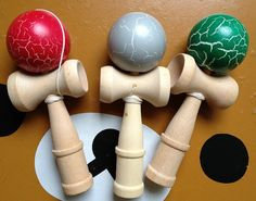 Colorful Big Size Kendama Ball Japanese Traditional by vintage1905, $20.00