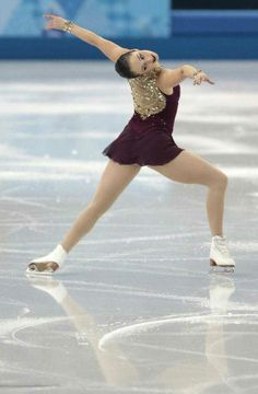 Kaetlyn Osmond of Canada competes in the women's team free skate figure skating competition at the Iceberg Skating Palace during the 2014 Wi...