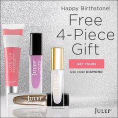 FREE April Birthstone Welcome Box | Closet of Free Samples | Get FREE Samples by Mail | Free Stuff