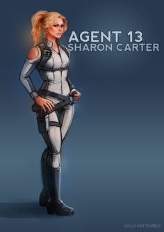 Vylla — Sharon Carter: Agent 13 - 7/46 One new MCU...