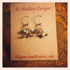 dwallacedesigns neutral, wear with everything bird, pearl, and crystal earrings.