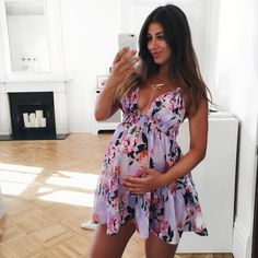 Mimi Ikonn Maternity Style, Pregnancy Style, Mimi Ikonn Style, Summer Pregnancy Style, 39 Weeks.