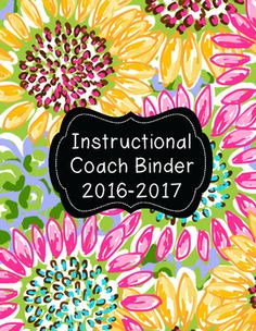 Instructional Coach Binder 2016-17 More