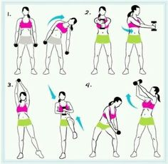 Helps to get rid of that muffin top!!!!