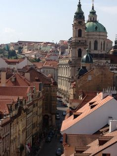 Take my father to Prague for his 60th birthday and meet some of our family in the Czech Republic.