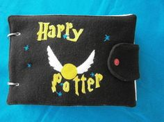 Harry Potter /Quiet book by UlrikesSmaating on Etsy