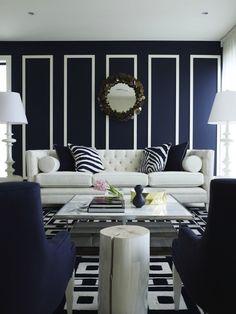 dark blue living room idea on pinterest