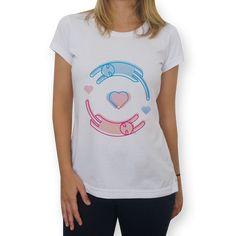 Camiseta Two-Love do Studio Minialien por R$65,00