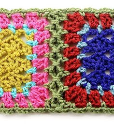 Gourmet Crochet: Simulated braid join