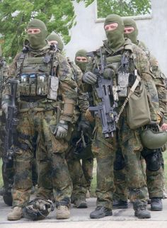 Well trained and equipped, German SOF (KSK) have been little involved in actual operations.: