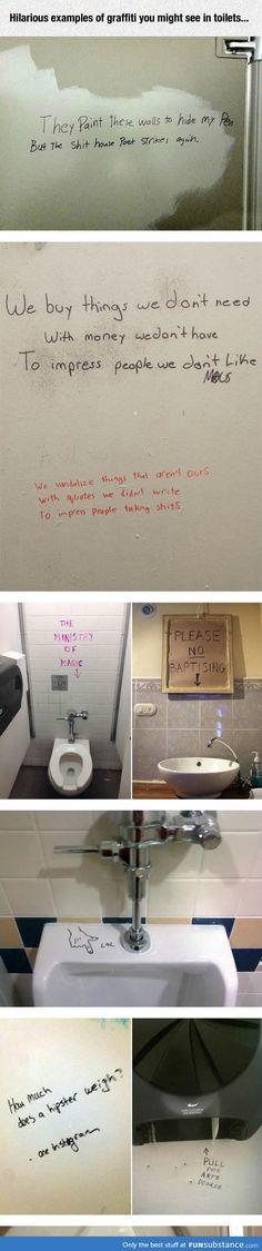 bathroom graffiti is the best graffiti