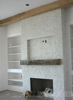 tabby fireplace