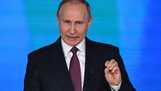#ACTUALIDAD #FVnoticias Putin presentó nuevo armamento nuclear y amenazó a EEUU: Follow @DonfelixSPM  Vladimir Putin presentó un nuevo…
