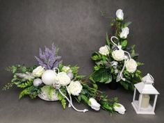 Grave Decorations, Cemetery Flowers, Flower Room, Funeral Flowers, Fall Flowers, Ikebana, Floral Wreath, Wreaths, Garden