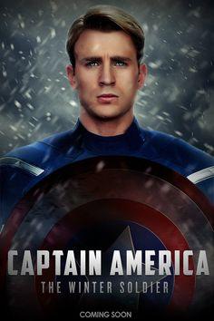 Captain America Winter Soldier by LifeEndsNow.deviantart.com on @deviantART