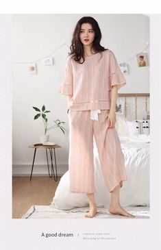 Cute Sleepwear, Sleepwear Sets, Sleepwear Women, Pajamas Women, Loungewear, Night Suit For Girl, Night Dress For Women, Comfy Dresses, Casual Summer Dresses