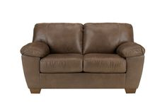 Amazon Microfiber Loveseat from Gardner-White Furniture - $332