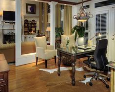 diningroom office | Dining Room Converted Design Ideas, Pictures, Remodel, and Decor