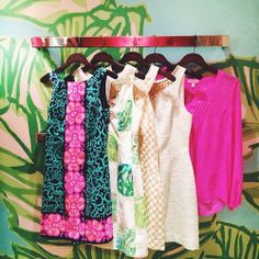 thecollegeprepster:  It may be snowing out, but the @Lilly Pulitzer store is a colorful haven! Can't wait to share the video @smallgirlbiglen...