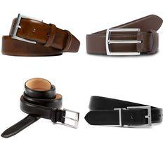Men's Formal Belts - 6 Rules for wearing belts like a boss Leather Belts, Men's Belts, Hard Wear, How To Wear, Snake Design, Dramatic Look, Men Design, Thick Leather, Brass Buckle