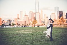 After dating for 10 years, Iru and Eric had the perfect city chic DIY wedding at the Liberty House.