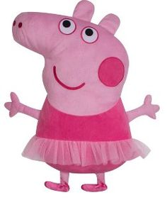 Buy Peppa Pig Ballerina Cushion from our View All range today from George at ASDA.